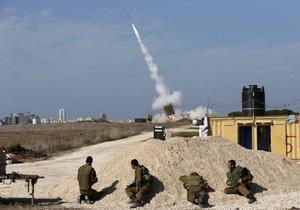 Батарея ПРО Железный купол перехватывает палестинские ракеты у Тель-Авива - военные