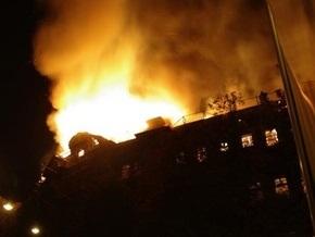 В центре Одессы горело здание-памятник архитектуры Дом Руссова