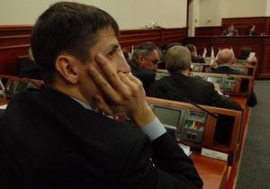 Депутаты Киевсовета требуют увольнения одного из замглавы КГГА