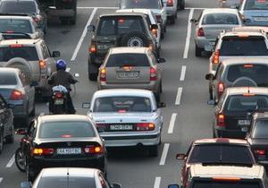 СМИ: Из-за ремонта дорог Киев застрянет в пробках
