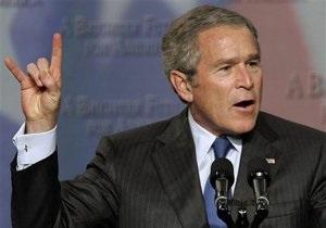 Джордж, я прошу тебя разбомбить укрытие: Буш рассказал, как Израиль предлагал нанести удар по Сирии