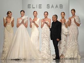 Фотогалерея: Эли Сааб представил в Киеве Haute Couture