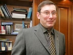 Луценко поблагодарил журналистов за содействие милиции и пообщался с Новосельцевым