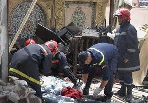 Взрыв в Марракеше признали терактом, большинство жертв - иностранцы