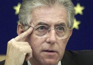 Премьер Италии временно будет исполнять обязанности министра иностранных дел