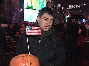 У посольства США в Москве проходит антиамериканский митинг
