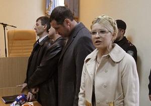 Защита Тимошенко ожидает, что рассмотрение апелляции начнется в середине декабря
