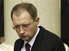 Яценюк: Мы завершили первый оппозиционный день не очень эффективно