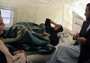Голодающая девять дней экс-депутат парламента Афганистана возлагает вину за свою возможную смерть на Карзая