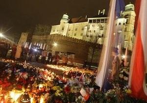 Сегодня начнется церемония прощания с жертвами авиакатастрофы под Смоленском