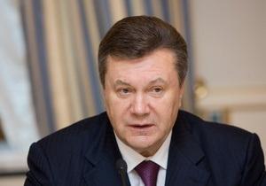 Янукович: Украина будет сокращать импорт газа, если не удастся договориться с РФ о новой цене