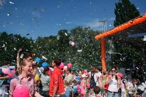 В Киеве в рамках социальной инициативы  Шведские сезоны детям  состоялся детский праздник
