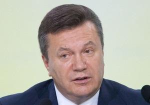 Янукович: Украина за год-два реально улучшит ситуацию с защитой прав человека