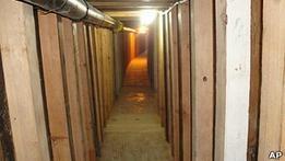 На границе США и Мексики найдены туннели наркомафии