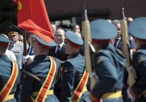 Новости Москвы - парад в Москве - В 24 российских городах состоялись военные парады - 9 мая