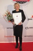 Управляющий партнер украинской компании Клара Бодин признана Бизнес-вумен года в Швеции