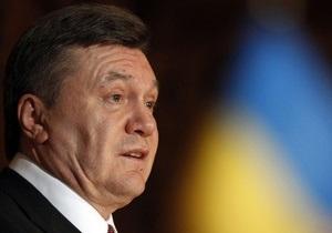Янукович рассчитывает на подписание Соглашения об ассоциации с ЕС