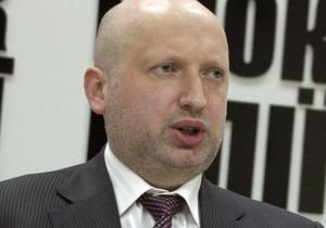Турчинов: Ющенко может рассчитывать на место в списках Партии регионов