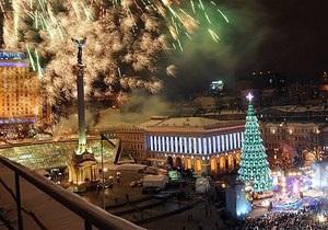 Новый год 2013 - В Киеве зажглась главная елка страны