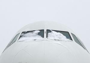 В Борисполе задерживается 26 международных и внутренних авиарейсов