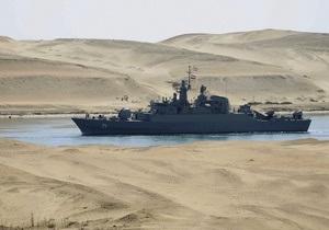 Корабли ВМС Ирана, прошедшие в Средиземное море через Суэц, возвращаются на родину