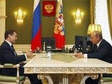 Опрос: 80% россиян поддерживают действия Медведева во время войны в Осетии