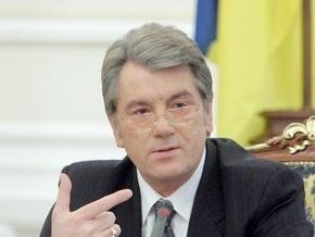 Ющенко совещается с Тимошенко, Литвином и Стельмахом в телефонном режиме
