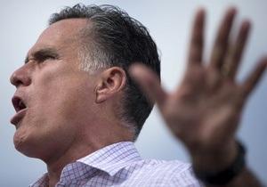В случае избрания президентом Ромни не намерен проявлять гибкость с Путиным
