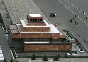 Единая Россия: Идея захоронения Ленина пока не является инициативой партии