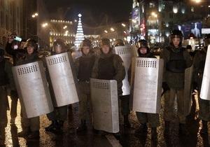 МВД РФ объяснило передвижение внутренних войск по Москве