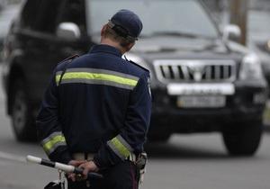 Киевских водителей учат, как избежать штрафа ГАИ