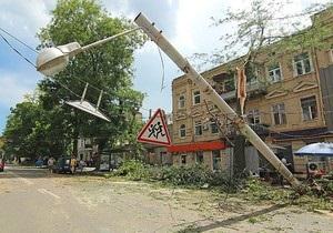 Ураган в Одессе: власти подсчитали количество пострадавших