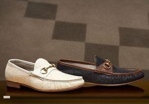 Gucci отмечает 60-летие легендарных лоферов