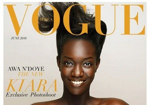 Издатель Vogue отказался от выпуска журнала в Африке
