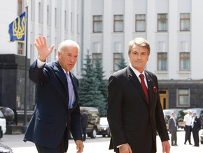 Фотогалерея: Киев встретил посланника Обамы