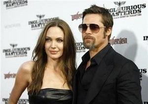 Питт и Джоли договорились о разделе имущества