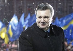 Янукович израсходовал на избирательную кампанию почти 322 млн гривен