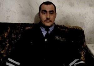 Еще один российский милиционер выступил с видеообращением