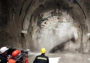 Под Альпами прорыли самый длинный в мире тоннель