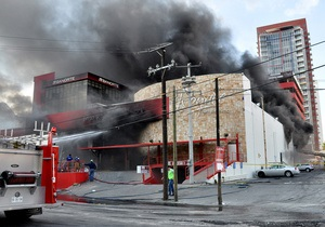 Число жертв поджога казино в Мексике превысило 50 человек