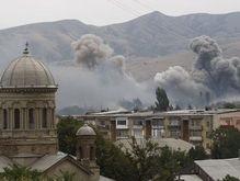 Российская артиллерия начала обстрел города Гори