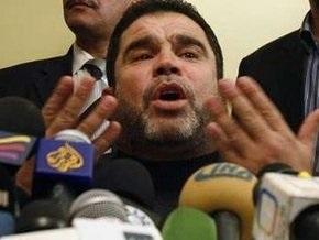 ХАМАС высказал свои замечания к египетской инициативе по Газе