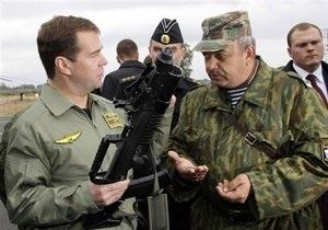 Медведеву предоставили право лично принимать решение об использовании армии за рубежом