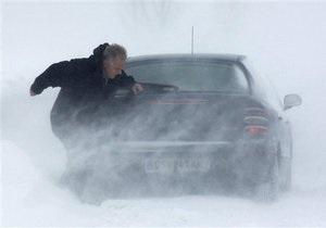 Новости Одессы - Николаева - погода - снег - Трасса из Николаева в Одессу оказалась в снежном плену