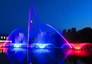 В Виннице откроют крупнейший в Европе светомузыкальный фонтан