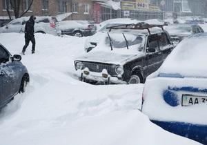СБУ проконтролирует процесс уборки снега в Киеве
