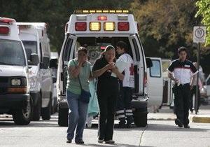 В результате землетрясения в Мексике пострадали не менее семи человек