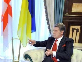 Ющенко надеется, что Медведев его услышит