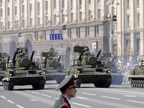 Кабмин выделил 15 млн гривен на организацию военного парада в Киеве