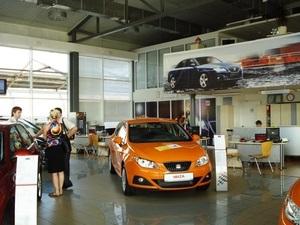 Окончательная распродажа автомобилей SEAT 2010 года